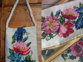 Beautiful needlepoint that I can't see go to waste!