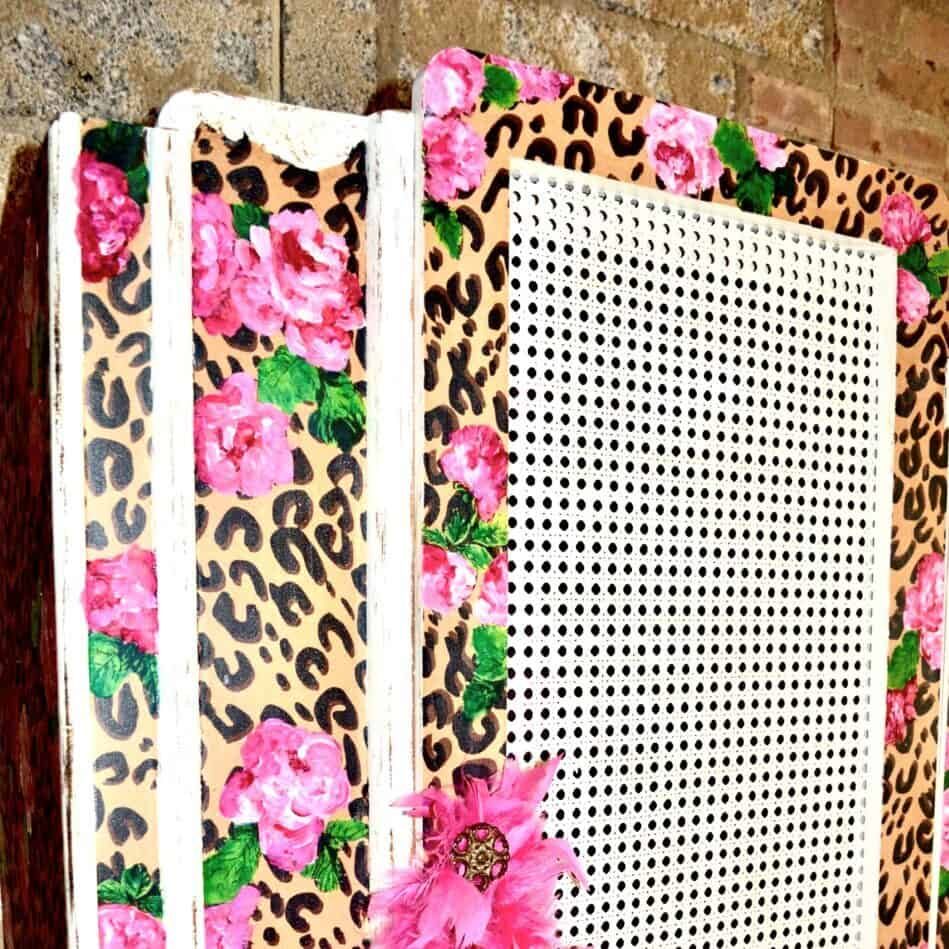ReVamp BoutiqueLeopard and flower BoHo Luxe Armoire